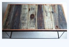 Barnwood Coffee Table  Industrial Furniture  by thezenartist, $425.00
