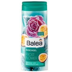 Balea Shower Gel Frost Flower 300 ml (Balea Duschgel Frost Flower) Limited edition! The Shower Gel Frost Flower will pamper your senses with beguiling Trend It Up, Dm Balea, Juice Bottles, Shower Gel, Frost, Flowers, Creme, Beauty, Products