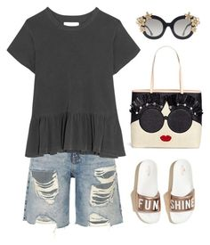 """""""This is me"""" by musicfriend1 ❤ liked on Polyvore featuring River Island, The Great, Hollister Co. and Alice + Olivia"""