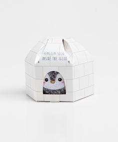 Коробка с носками в форме иглу - OYSHO