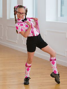 Hip To Be Square | Revolution Dancewear Character Dance Recital Costume