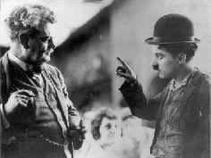 Granville Redmond with Chaplin