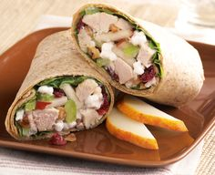 Turkey Salad Roll-Ups