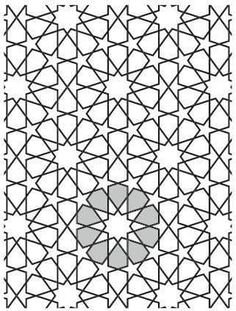 Geometric Patterns, Star Patterns, Tile Patterns, Geometric Art, Geometric Designs, Pattern Art, Pattern Design, Paper Patterns, Pattern Drawing