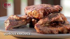 Steak, Pork, Chicken, Youtube, Kale Stir Fry, Steaks, Pork Chops, Youtubers, Youtube Movies