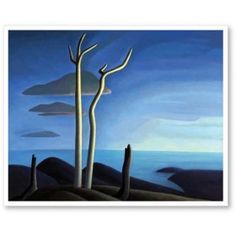 """Canadian Group of Seven painter Lawren Stewart Harris was born in This is """"Lake Superior. Lake Superior Map, Lake Superior Agates, Superior Wisconsin, Group Of Seven Artists, Group Of Seven Paintings, Emily Carr, Canadian Painters, Canadian Artists, Tom Thomson Paintings"""