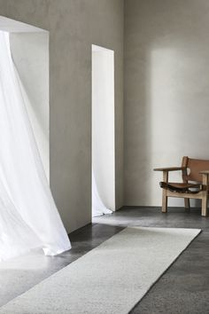 Andorra Runner in Terrazzo Styling: Joseph Gardner Photography: Sharyn Cairns Andorra, Armadillo, Contemporary Rugs, Classic Collection, Natural Rug, Terrazzo, School Design, Timeless Design, Brown And Grey