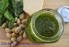 Cuchara, cucharilla, cucharón: Pesto de pistachos