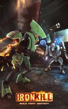 Ironkill: Robot Fighting Game - http://mobilephoneadvise.com/ironkill-robot-fighting-game