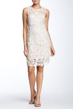 Laced V-Back Cocktail Dress by Soieblu on @nordstrom_rack