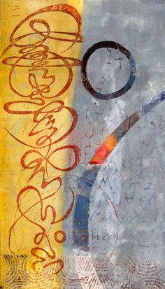 Invitation to Celebrate by Anne Moore monotype