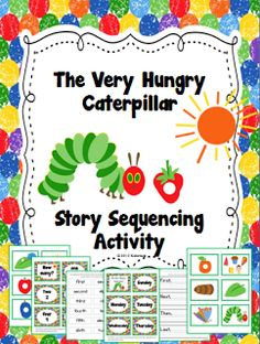 First Grade Gallery- Lessons for Little Learners: The Very Hungry Caterpillar Sequencing Giveaway