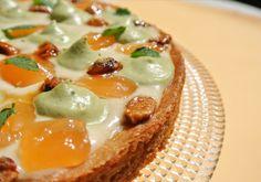 Tarte matcha pamplemousse façon #fantastik de #christophemichalak http://www.envoie-le-sucre.fr/recettes-patisserie/recettes-tartes-tartelettes/tarte-matcha-pamplemousse-fantastik
