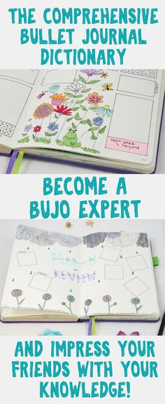 Bullet Journal Inspiration - Impress your friends with your bullet journal expertise! This article will help you learn everything you need to know about bullet journals and more! Ideas and information about different layouts, trackers, and other helpful details you should know!