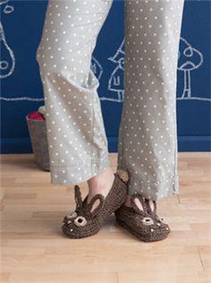 Bunny Crochet Slippers! Fang the Bunpire Slippers - Media - Crochet Me