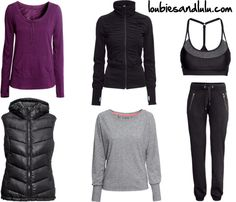 Great Workout Pieces from H&M