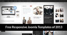 20 Best Free Responsive Joomla Templates of 2013