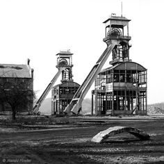 Kohlengrube Kempense Steenkolenmijnen Siége d'Eisden