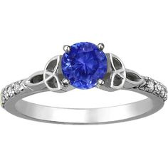Sapphire and Celtic Knots? What is this sorcery?