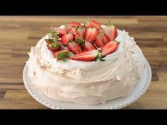 Pavlova Recipe | How to Make Pavlova - YouTube