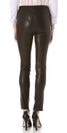 J Brand Leather Leggings   SHOPBOP