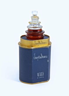 Art Nouveau - R. Lalique, Worth Imprudence Perfume Bottle, : Lot 220 <3