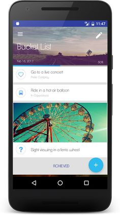 Buckist - Best Bucket List App v1.7.12 [Premium]   Buckist - Best Bucket List App v1.7.12 [Premium]Requirements:4.1 and upOverview:Buckist - Best Bucket List App is a powerful app which allows you to create and manage a list of things to do before you die!  Buckist - Best Bucket List App is a powerful app which allows you to create and manage a list of things to do before you die!  By setting down those things you may find more motivation and inspiration in life.  Buckist - Best Bucket List…