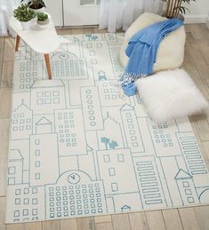 MILES DS202 IVORY - MILES - Area Rugs - Products  nourison