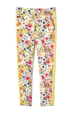 JUST ADDED! MSGM Viscose Floral Stamped Pant <3
