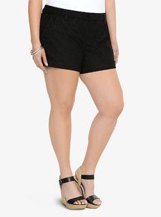 Lace Shorts | Torrid