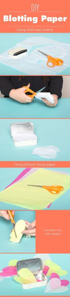 DIY Blotting Papers
