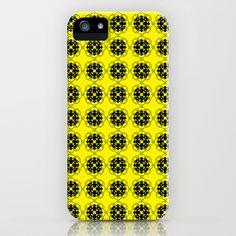 Yellow Custom Pattern iPhone Case by HeyTrutt - $35.00