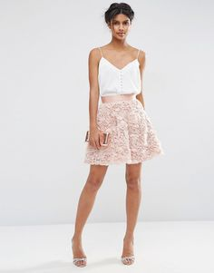 ASOS+Mini+Prom+Skirt+with+Rose+Corsage