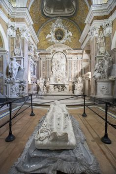 Cristo velato, Cappella Sansevero, Napoli.