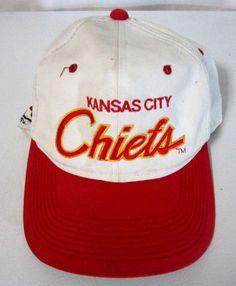 f55b537a34c Vintage Sports Specialties Kansas City Chiefs Two Line Script Snapback Hat    Cap  KansasCityChiefs Kansas