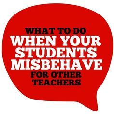 When your students misbehave in PE, art, music, etc--how do you handle it?
