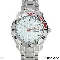 OMAX Brand New Gentlemens Day date Watch 2878 #omax #Casual
