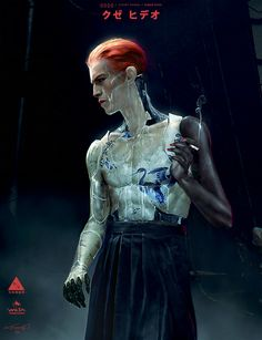 ArtStation - Ghost in the Shell - Kuze 03, Jeremy Hanna