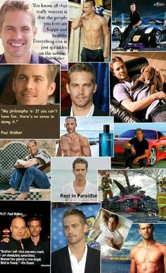 Remembering Paul Walker... He was a Hero to So Many People!!