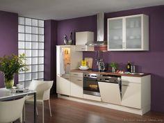 37 best Purple Kitchens images on Pinterest | Kitchens, Purple ...