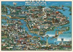 71 mil mapas antigos em alta resolução para download gratuito , Cortesia de David Rumsey Map Collection