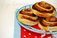 Cinnamon rolls ou simplesmente caracóis de canela