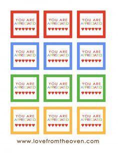 Rainbow Squares Printable copy