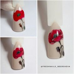 Amazing Tips For The Best Summer Nails – NaiLovely Nail Polish Designs, Nail Art Designs, Spring Nails, Summer Nails, Tulip Nails, Nail Art Techniques, Flower Nail Art, Gel Nail Art, Nail Tutorials