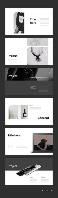 Simple P. Keynote Template is a clear presentation to Show your Portfolio & Ideas. This is the right business portfolio presentation for every creator, Ppt Design, Design Powerpoint Templates, Layout Design, Design De Configuration, Design Nike, Design Retro, Buch Design, Keynote Template, Brochure Design