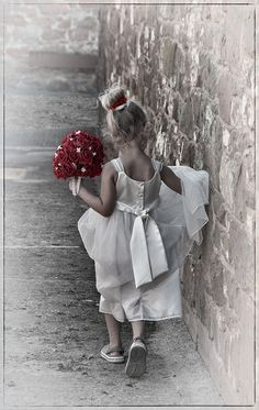 Photo Bridesmaid with the Bouquet by Ann  on 500px
