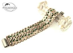 English pattern for the Art Deco bracelet