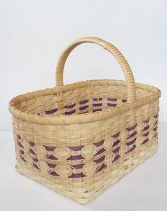 Woven Picnic Basket Market Basket Large Basket by CustomCoffey