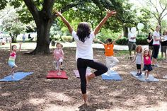 Kids yoga requires a little more imagination and fun to keep them engaged. Here are 4 creative ways to encourage play in kids yoga.