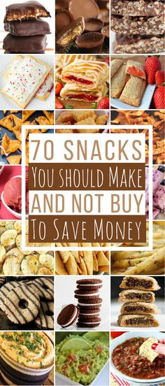 Stop buying expensive snacks at the grocery store. You can make your own snacks for a lot less than what it costs to buy them. You can easily make Doritos, Cheez-Its, Reese's Peanut Butter Cups, Oreos, Pop-Tarts and much more. Plus, the homemade versions of these snacks will taste better than the store bought ones because they are made with real ingredients and are preservative-free. Chips … … Continue reading →